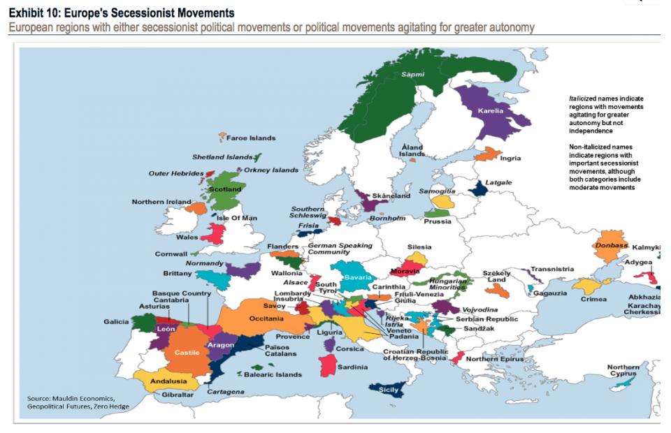 mișcări separatiste europa