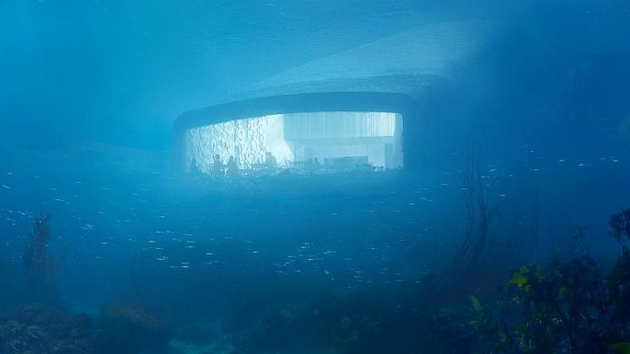 Așa va arăta restaurantul subacvatic din Norvegia. Foto: SNØHETTA