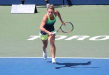 Simona Halep a câștigat primul meci la Turneul Campioanelor 2017. Foto: Mihnea Stanciu / Flickr
