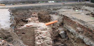 Ruinele fostei Academii Domnești de la Sf. Sava. Foto: infoub.unibuc.ro