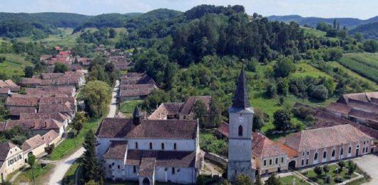 Satul Richiș. Foto: Primăria Biertan