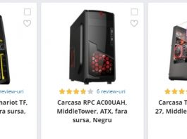 black friday 2017 carcase PC emag