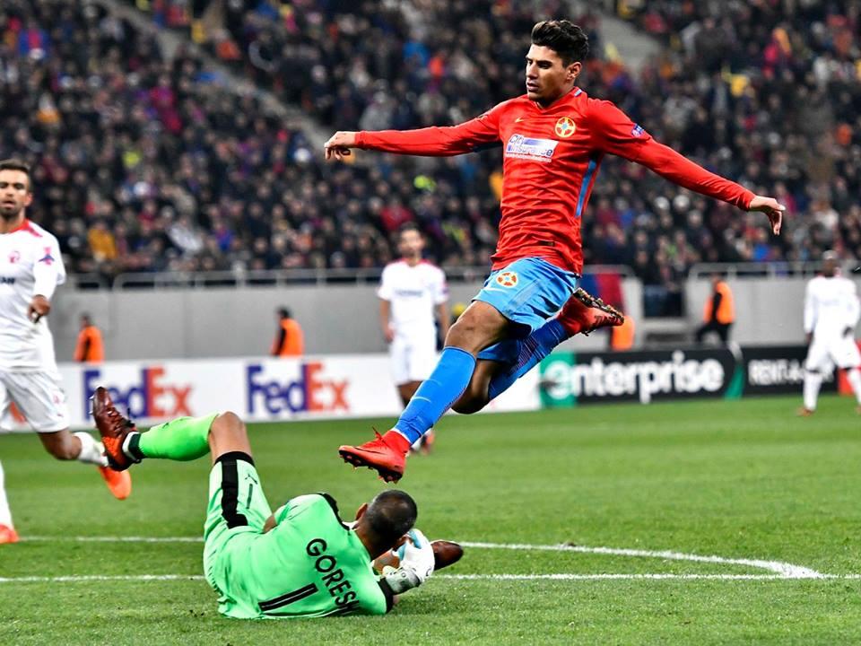 FCSB este singura echipă din fotbalul românesc care ține steagul sus în Europa. Foto: Facebook FC Steaua București