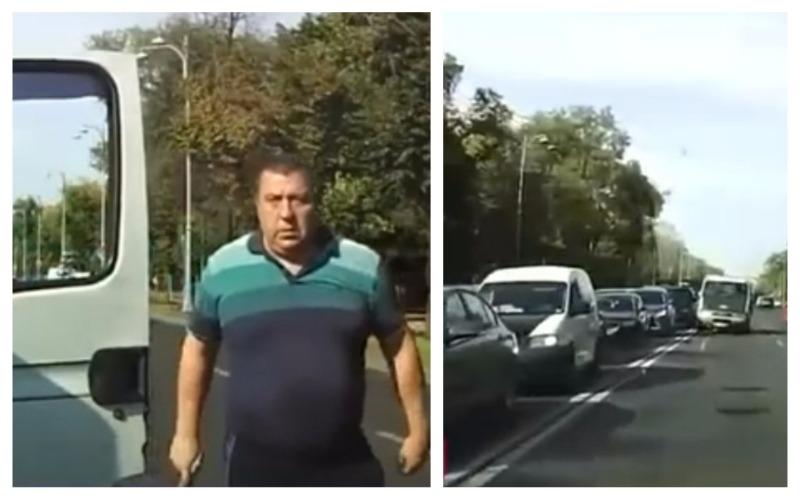 șofer agresiv