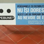 campanie locuri de parcare persoane cu dizabilități