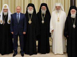 vladimir putin patriarhul daniel