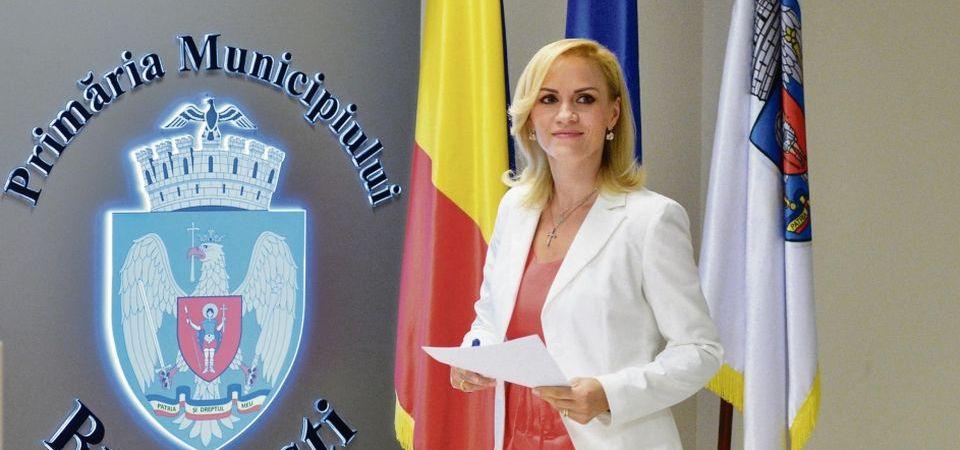 Gabriela Firea. Foto: Primaria București