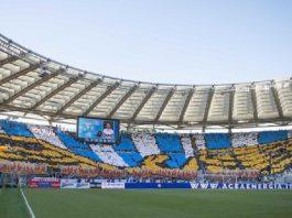 FCSB - Lazio Roma, în primăvara europeană a UEFA Europa League. Foto: SS Lazio