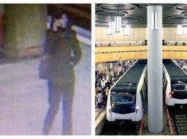 crimă metrou