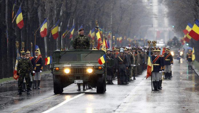 Parada militară de Ziua Națională. Foro: MAPN / Facebook