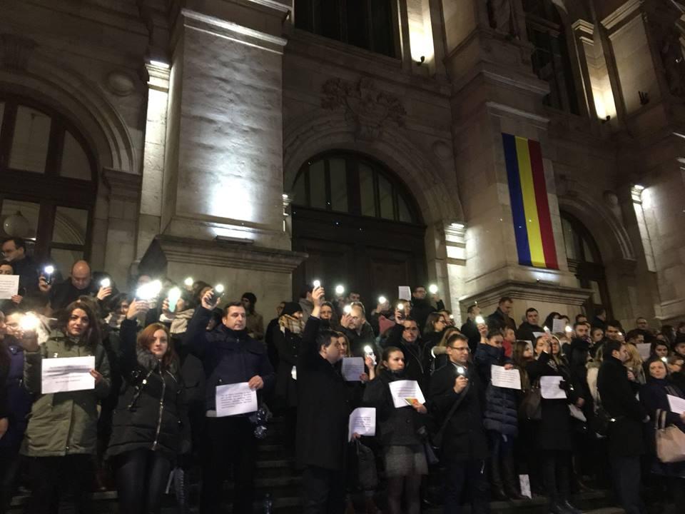 protest magistrați bucurești