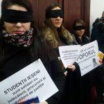 protest studenți drept iași