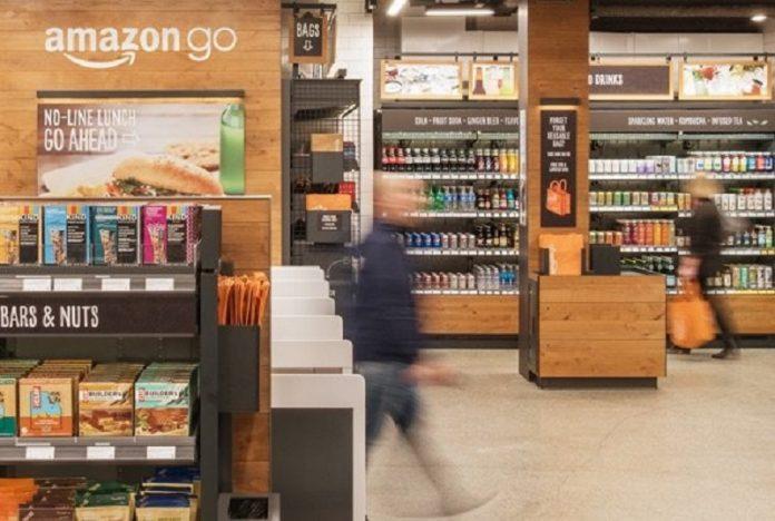 Amazon Go, primul supermarket în care nu trebuie să treci pe la casa de marcat. Foto: Amazon