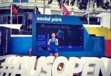 Ana Bogdan este una dintre cele patru românce calificate în turul doi la Australian Open. Foto: Facebook