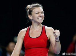 Simona Halep joacă tot mai bine la Indian Wells. Foto: Simona Halep / Twitter