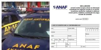 declarația 600 ANAF declarația 600 PFA declarația 600 termen depunere formularul 600