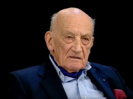 A murit istoricul Neagu Djuvara (1916-2018). Foto: Captură TVR