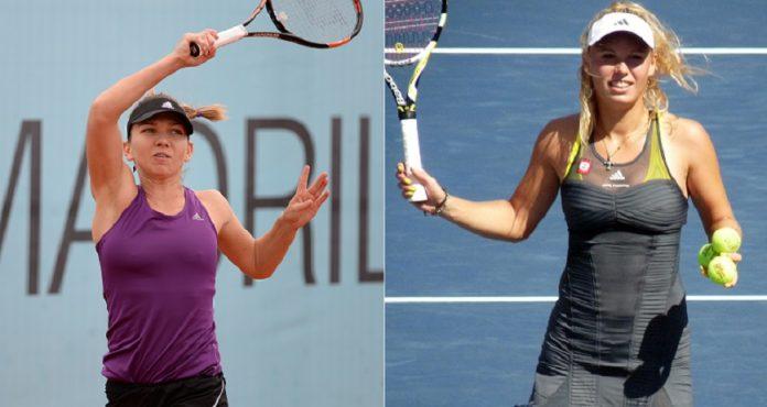Halep - Wozniacki, finala Australian Open 2018. Foto: Wikimedia Commons