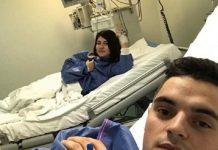 Cei doi sunt internați la Spitalul Fundeni, din Capitală, iar starea lor este bună. Foto: obiectiv-sm.ro
