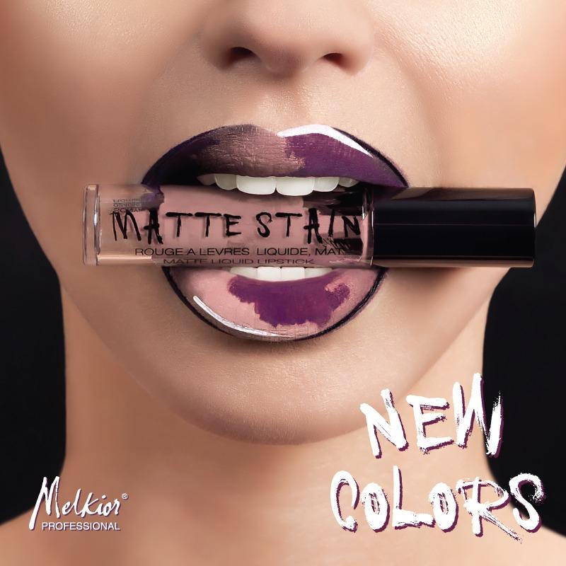 Makeup Trends Rujurile Lichide Mate Matte Stain De La Melkior