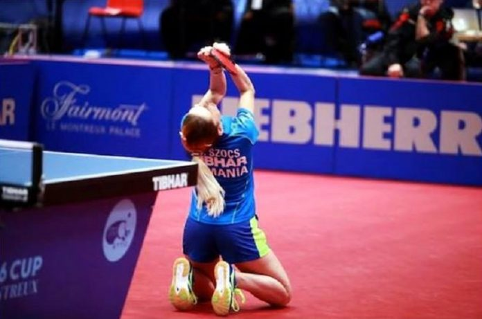 Bernadette Szocs a câștigat Top 16 Europe Cup. Foto: ITTF