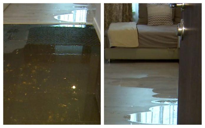 bloc inundat fecale oradea