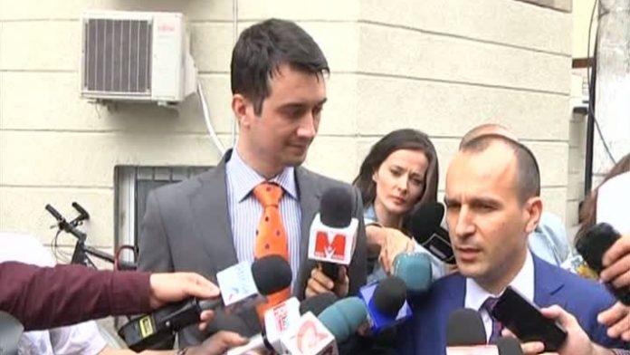 Dragoș Băsescu (stânga). Foto: Captură România TV