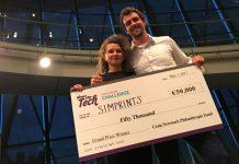 """Anul trecut, în mai, proiectul Alexandrei Grigore a câștigat marele premiu la competiția """"Women Startup Chalenge Europe 2017"""". FOTO: womenwhotech.com"""
