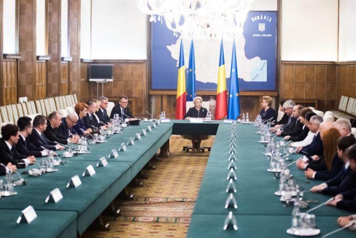Guvernul condus de Viorica Dăncilă FOTO: Gov.ro