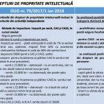 drepturi de autor cas pensie