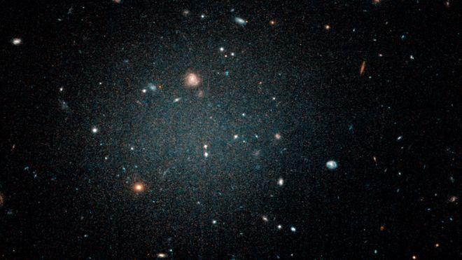 galaxia fantomă