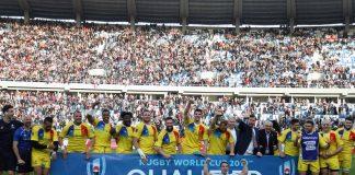 Naționala de rugby a României n-a ratat nicio ediție a Cupei Mondiale. Foto: Georgian Rugby / Facebook