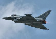 Eurofighter Typhoon FOTO: Dmitry A. Mottl/Wikimedia Commons