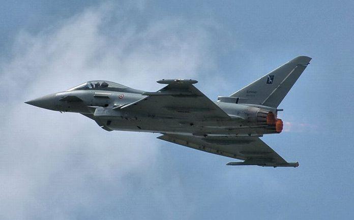 Eurofighter Typhoon FOTO:Dmitry A. Mottl/Wikimedia Commons