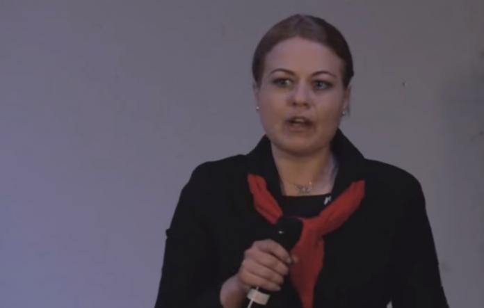 Alexandra Lăncrănjan FOTO: TEDxCaleaVictorieiED/captură Youtube/