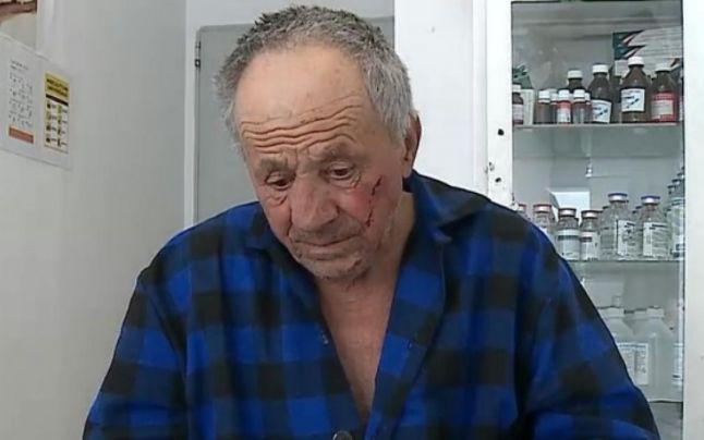 bătrânul bătut din brașov