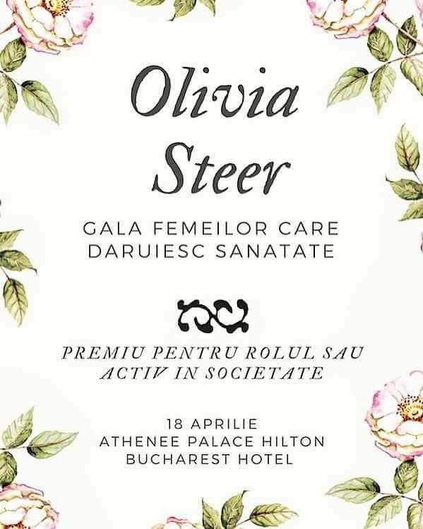 olivia steer premiată