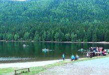 scăldatul interzis in lacul sfânta ana