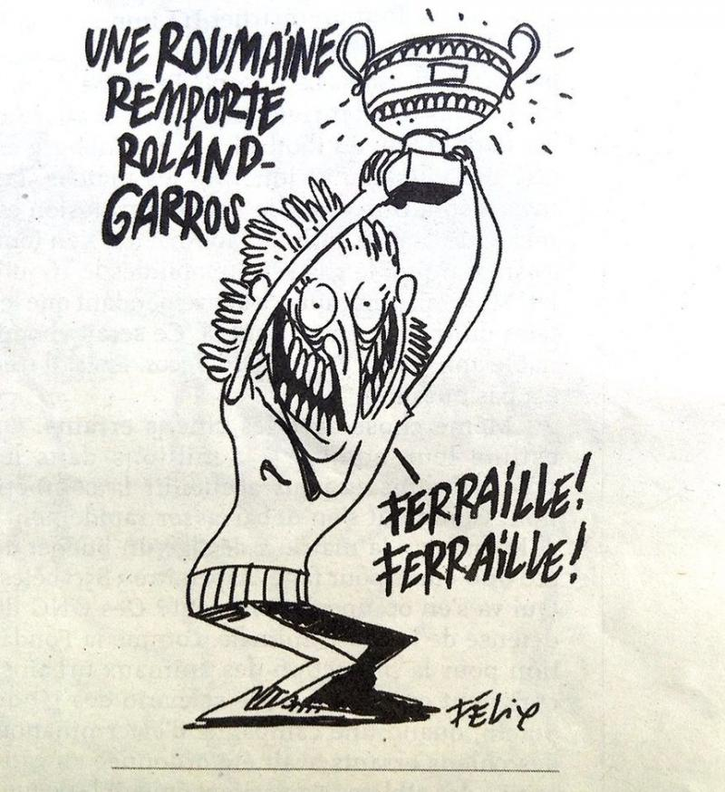 Caricatura din Charlie Hebdo