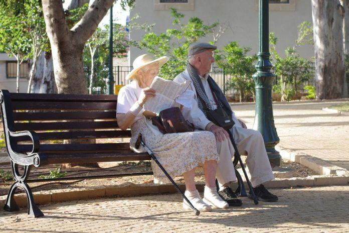 cuplu bătrân
