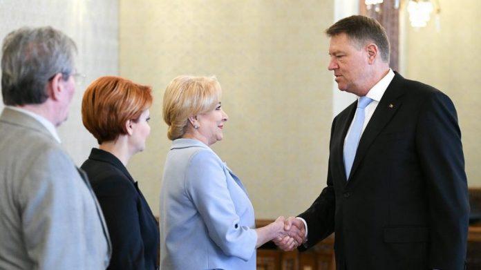 FOTO: Presidency.ro klaus iohannis viorica dăncilă