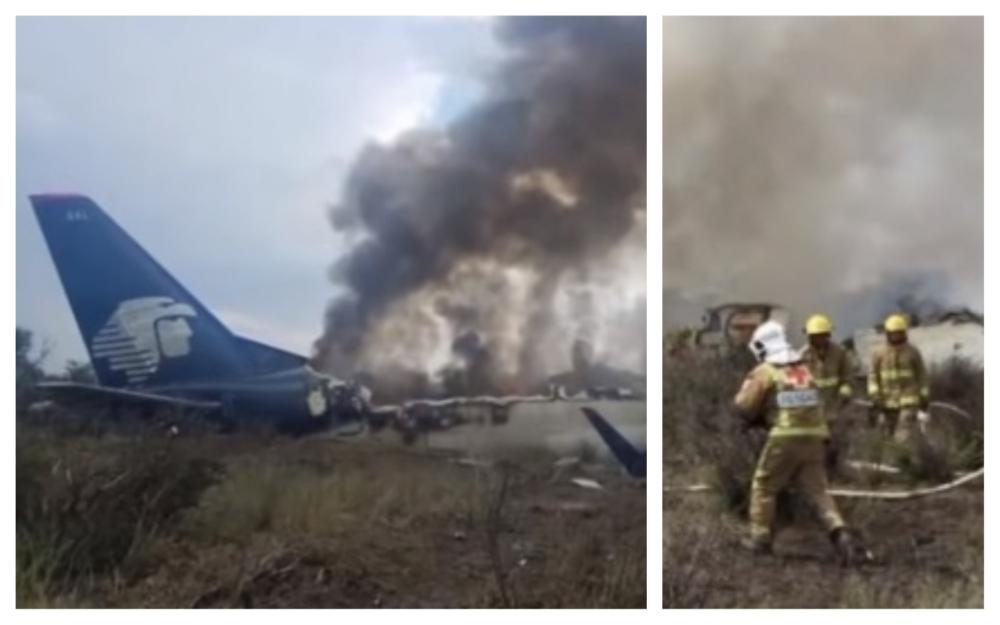 avion prăbușit mexic