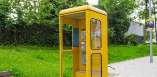 cabină telefonică
