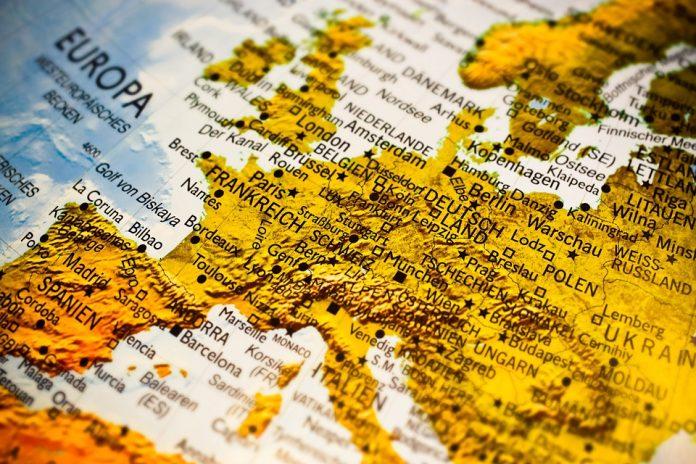 hartă europa spania avertizare de călătorie