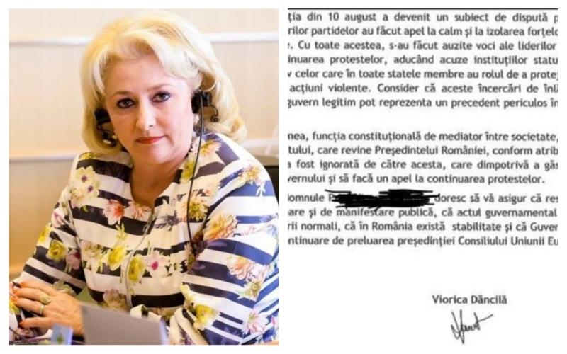 scrisoare comisia europeană viorica dăncilă