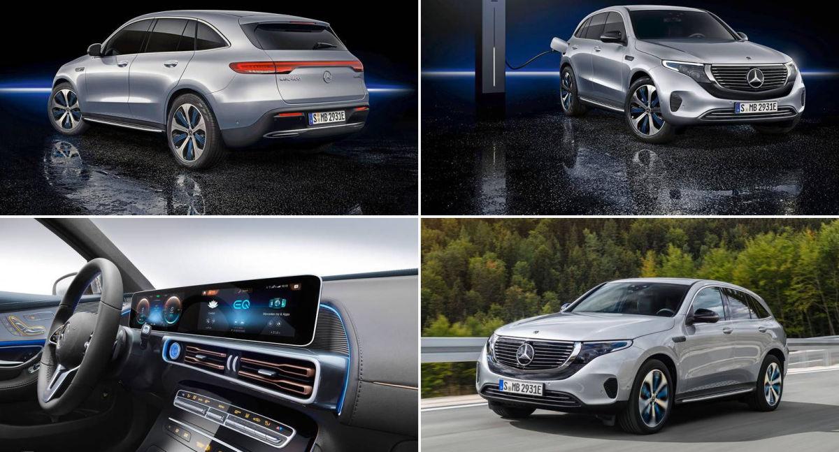 Mercedes EQC SUV electric