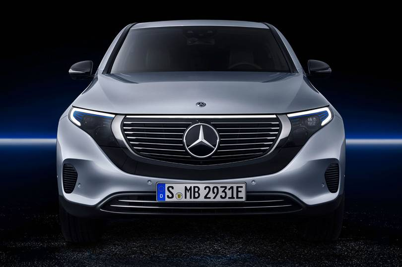 Mercedes EQC SUV electric