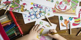 copii talentați la desen