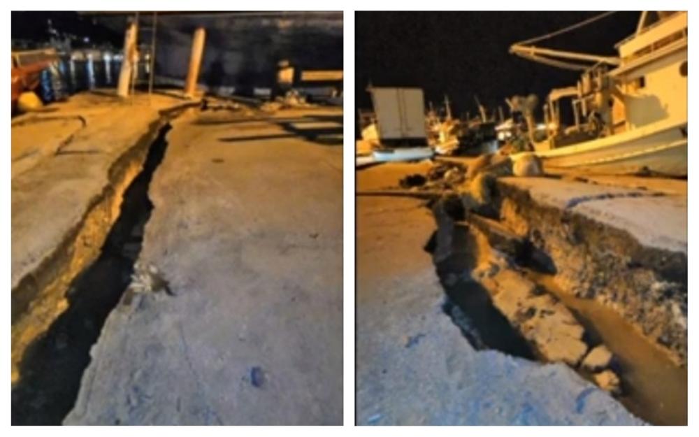 cutremur în grecia zakynthos