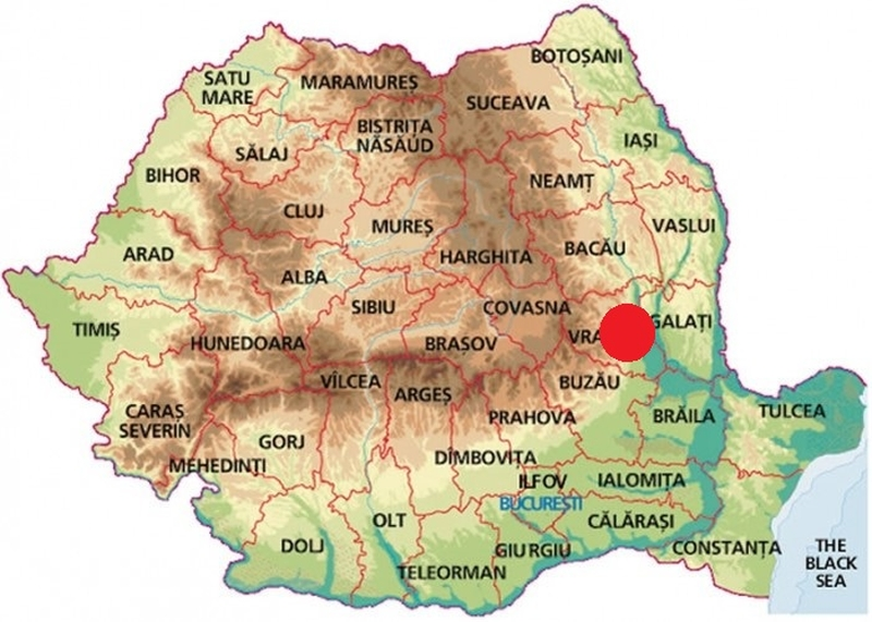 cutremur în românia zona vrancea